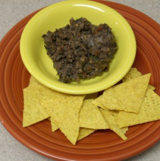 Quick & Easy Black Bean Dip