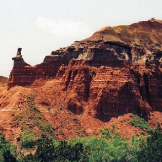 Hiking in Palo Duro Canyon