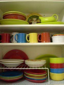 My organized kitchen the texas peach - Cutting board with prep bowls ...
