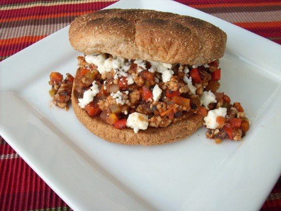 Greek-Style Sloppy Joes