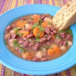 Red Bean and Turkey Sausage Soup