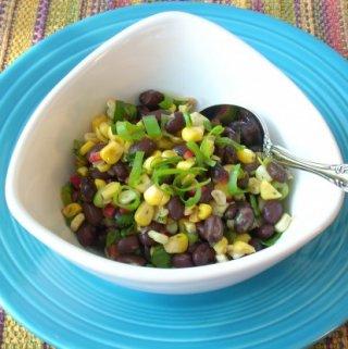 Toasted Corn and Black Bean Salad