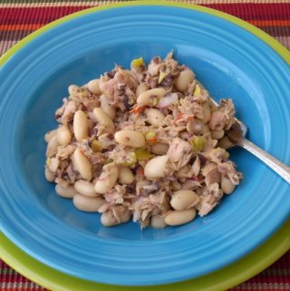 Mediterranean Tuna &   Cannellini Bean Salad