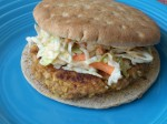Spicy Chickpea Burgers With Slaw