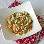 Quinoa Salad with Feta and Cilantro