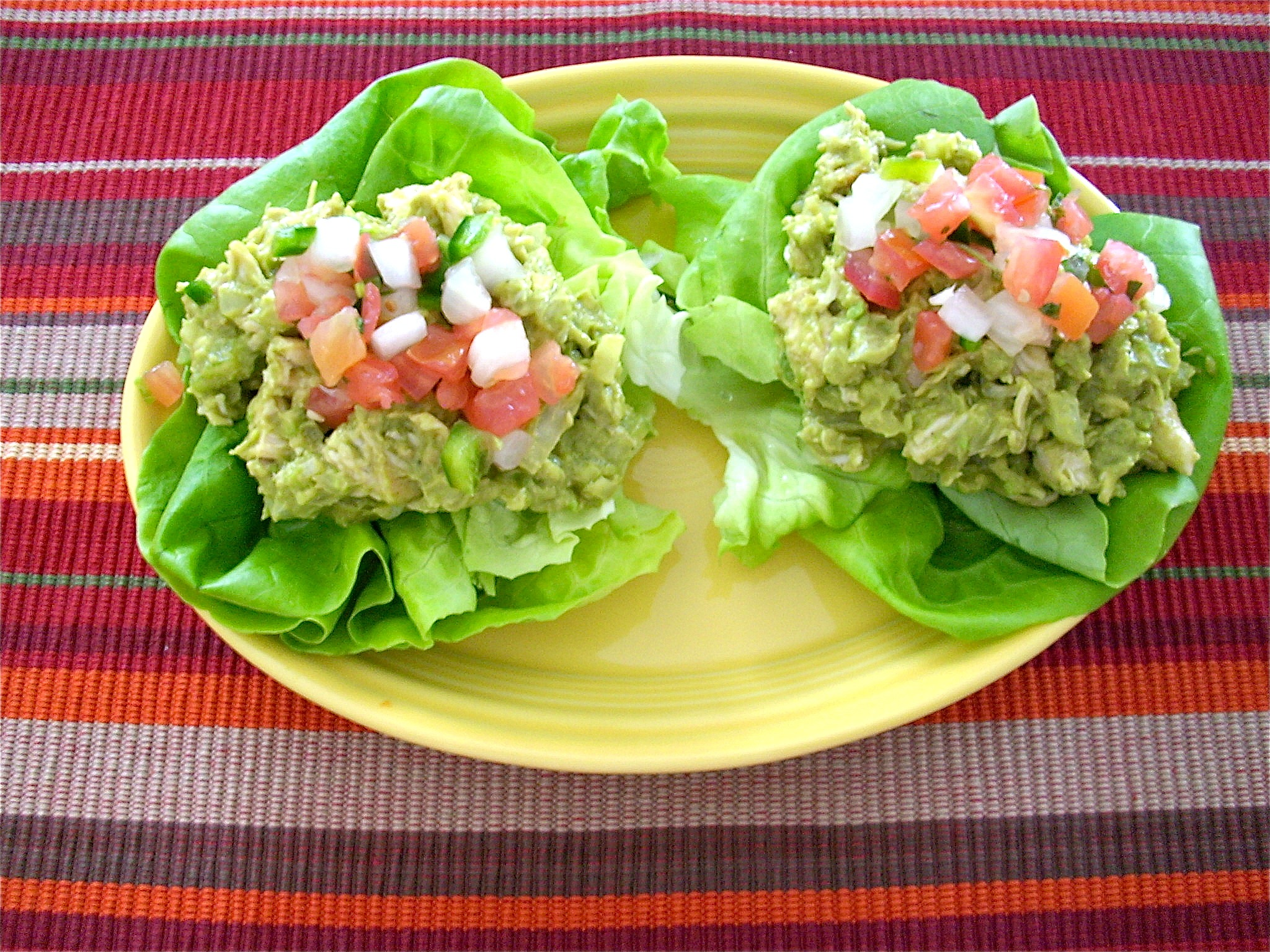 Avocado chicken salad healthier dishes avocado chicken salad forumfinder Images