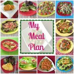 My Meal Plan Week of July 15th