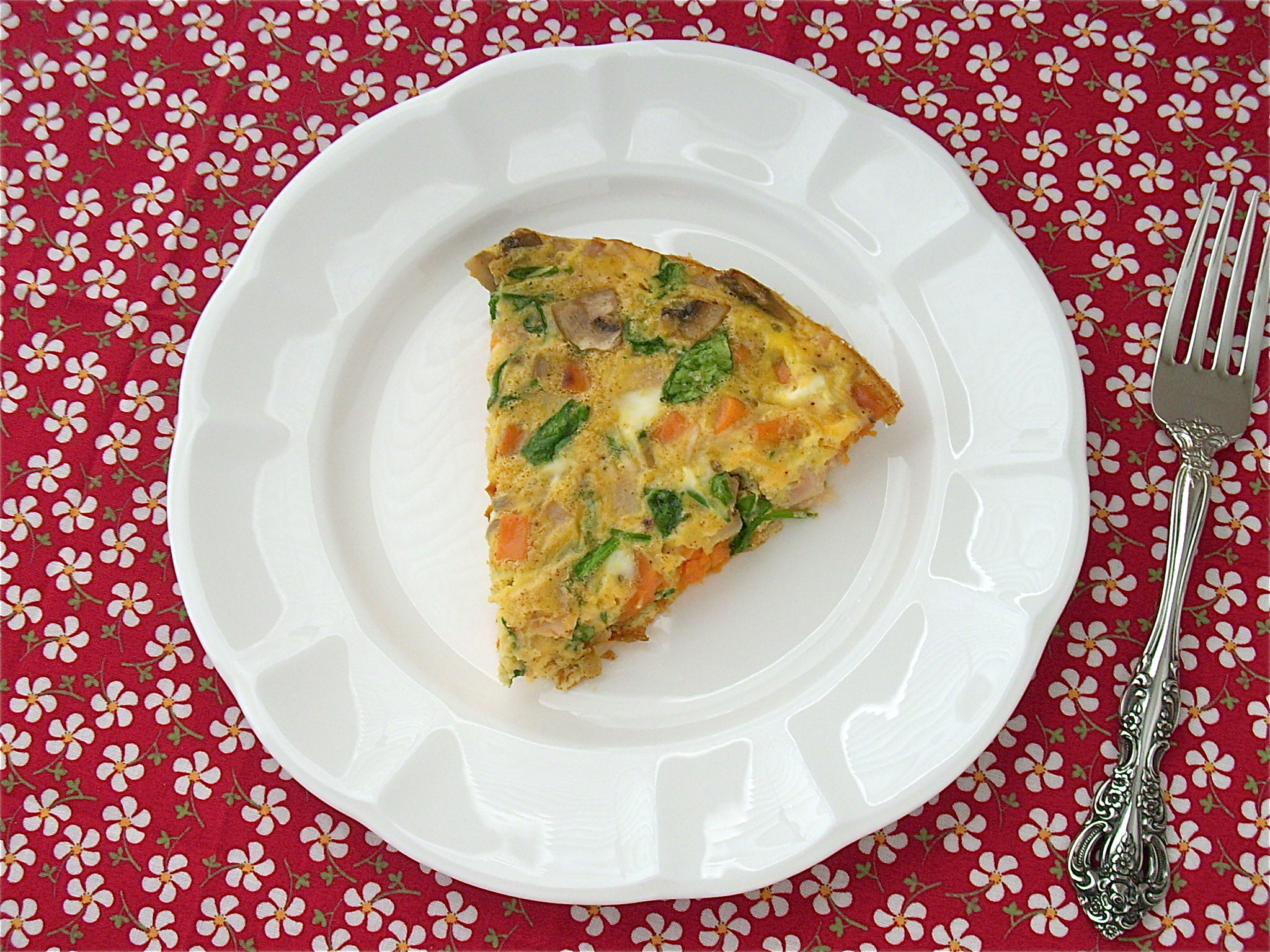 how to cook sweet potatoes in frittata
