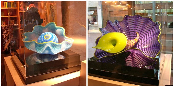 Chihuly gift shop items