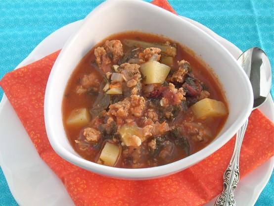 italian sausage kale potato soup