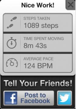 TrailMix app screenshot