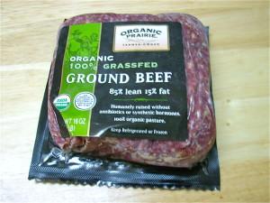 organic prairie grass-fed beef