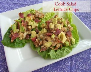 cobb salad lettuce cups
