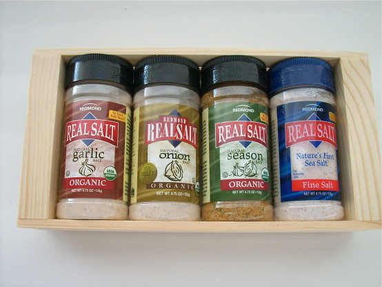 Redmond Organic Seasoning Gift Box