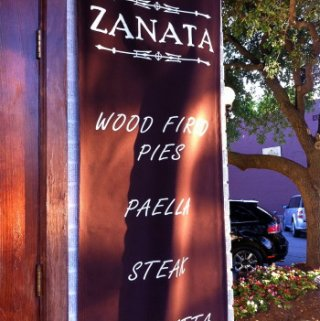 Dinner at Zanata