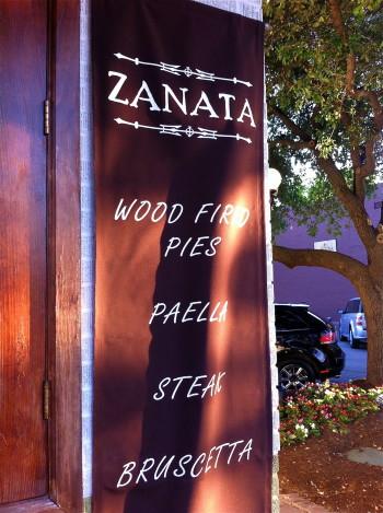 Dinner at Zanata