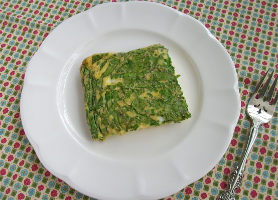 Spinach and Chive Egg Casserole
