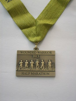 wounded warrior half 2013 medal