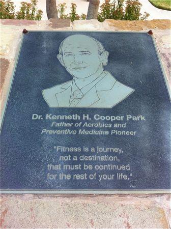Dr. Kenneth Cooper Plaque