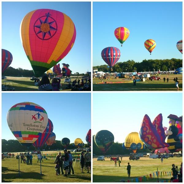 Hot air balloons - Plano Balloon Festival