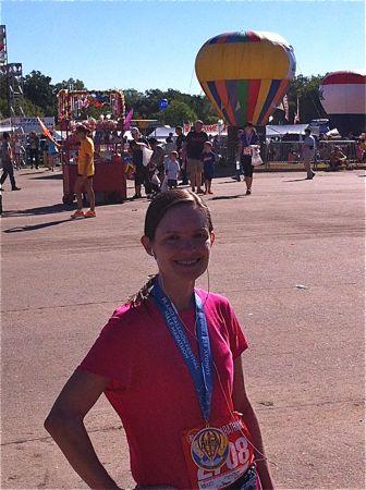 Tempie- Plano Balloon Festival Half