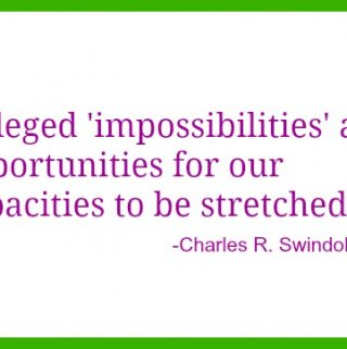 Alleged impossibilities quote