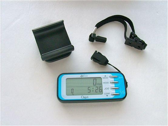 Ozeri 4x3 runner digital Pedometer