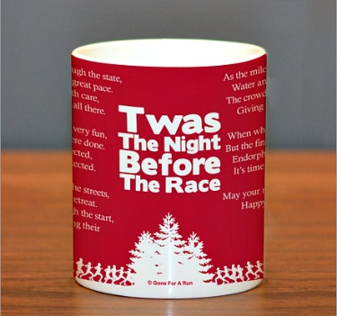 Twas the Night before Race Coffee Mug