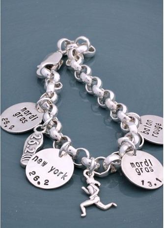 Runner Charm Bracelet