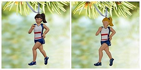 Runner Figure Ornament