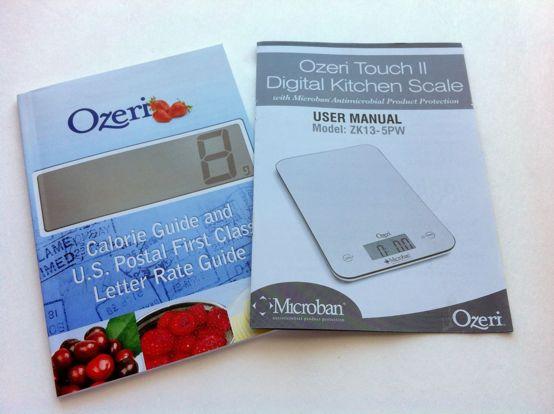 Ozeri Touch II Food Scale