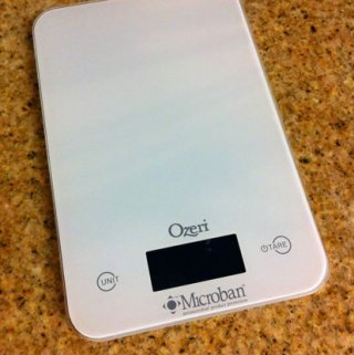 Ozeri Touch II Kitchen Scale