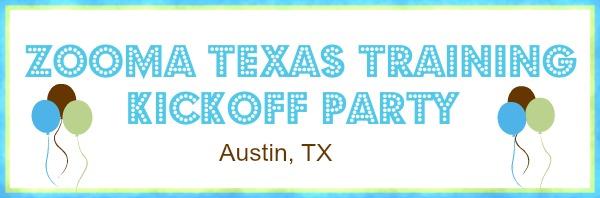ZOOMA Texas Half-Marathon Training Kickoff Party