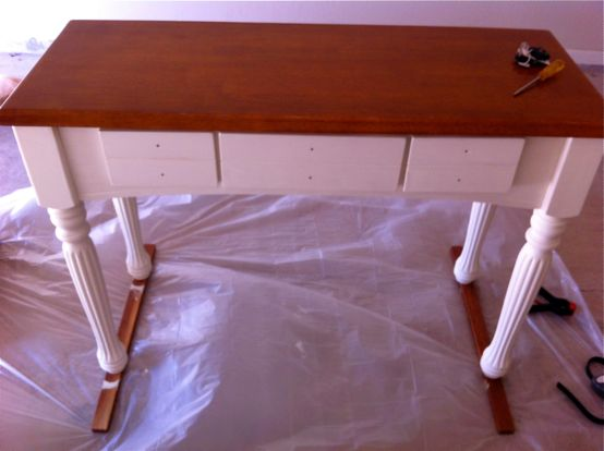 Hutch Painted