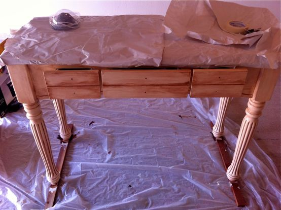 Hutch Table Sealed