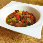 Black Bean and Andouille Sausage Soup