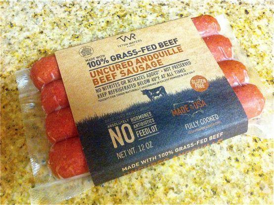 Teton Waters Andouille Sausage