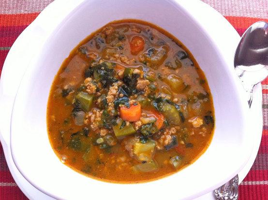 Chicken Pumpkin Soup