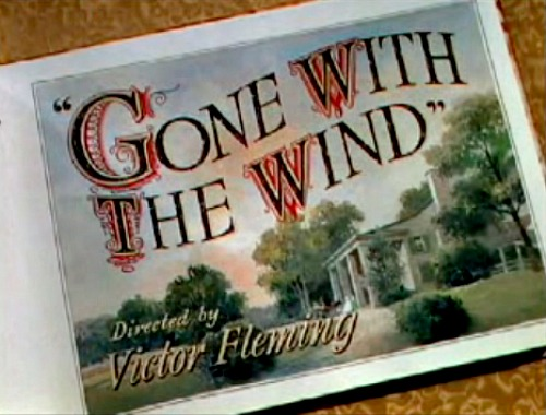 The Making of Gone With The Wind Exhibit