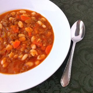 Beef and White Bean Soup