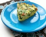 Potato Crusted Bacon & Spinach Quiche 3