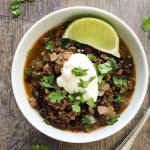Beef and Black Bean Soup