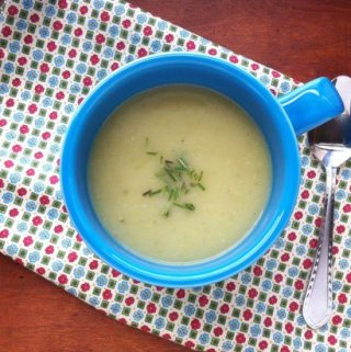 Creamy Celery Potato Soup