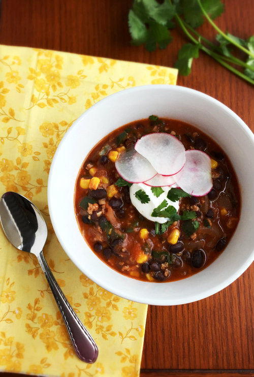Chili and Black Bean Chili