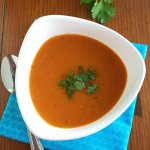 Smokey Red Pepper and Potato Soup