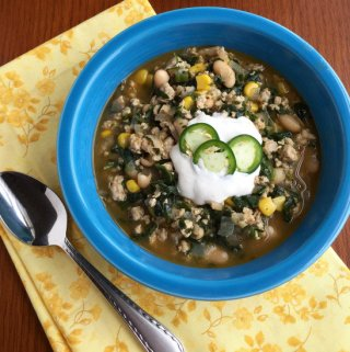 Mexican Chicken and White Bean Soup