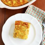 Chile Rellenos Breakfast Bake