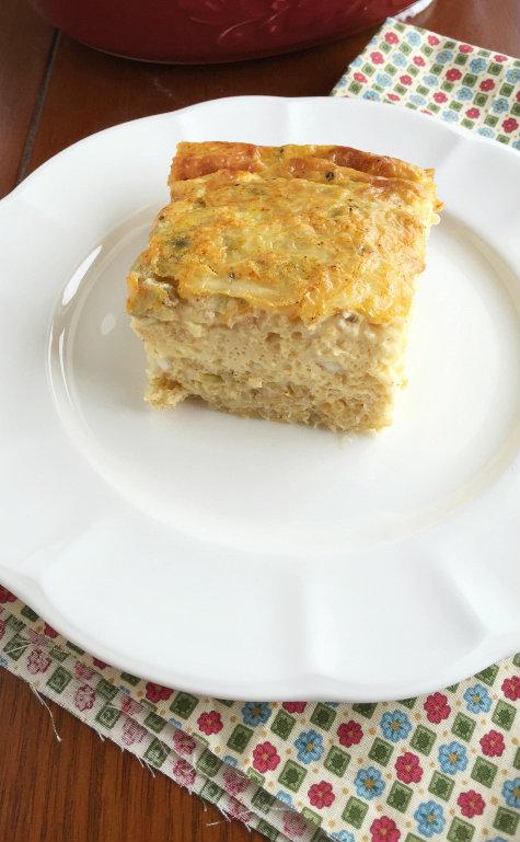 Chile Rellenos Breakfast Bake