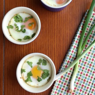 Mexican Baked Eggs (Eggs en Cocotte)