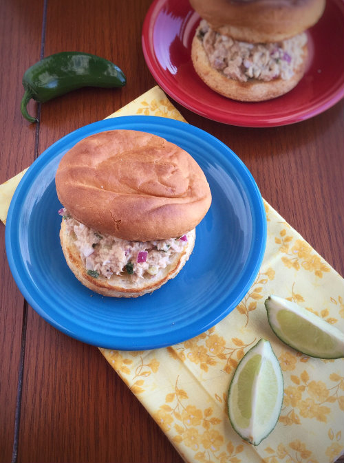 Jalapeno and Lime Tuna Salad